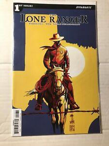The Lone Ranger # 1 2 3  Dynamite Comics  2018 Texas Cover C