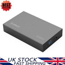 ORICO 3.5 Inch Aluminum USB 3.0 HDD/SSD Hard Drive Enclosure Case 12V 2A Adapter