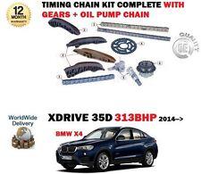 für BMW X4 XD Rive 35d 313bhp n47d30b 2014> Steuerkette+Getriebe+Ölpumpe Satz