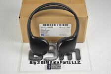 Cadillac Pontiac GMC Buick Black Headphone Accessories Package new OEM 23109052