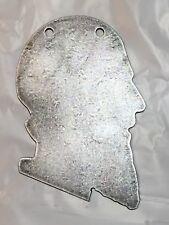 "AR500 ISIS Head Terrorist Silhouette Steel Target Gong 8"" X 12"" X 3/8"""