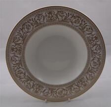 Villeroy & and Boch Heinrich FRESCO GOLD rimmed soup / dessert bowl 24cm NEW
