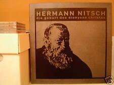HERMANN NITSCH Die Geburt Des Dionysos Christos 3xLP+DVD Box/1986 Organ Drone