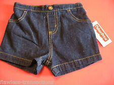 FISHER PRICE Boys Shorts Size Infant Toddler Baby Child 12 Months New With Tags