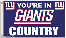 New York Giants Huge 3' x 5' NFL Licensed Country Flag - Free shipping!