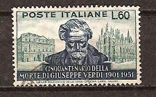 ITALY # 596 Used GIUSEPPE VERDI MUSIC COMPOSER
