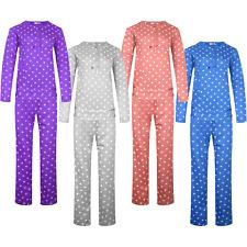 Damen Schlafanzug langer Pyjama M-3XL 2273 Punkte