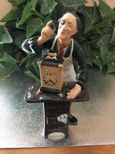 """Royal Doulton Figurine """"The Clockmaker"""""""