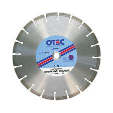 OTEC D10P Specialist Diamond Blade For Very Hard Concrete 350mm dia / 25mm bore