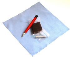 Satin / Brushed Refinish Pad  & Pen for Swiss Army Brushed Steel Finishes