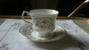 ELIZABETHAN FINE ENGLISH CHINA CELEBRATION SERIES CUP AND SAUCER