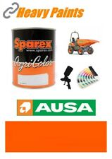 Ausa Dump Truck Orange Paint High Endurance Enamel Paint 1 Litre Tin