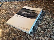 Uso E Manutenzione Audi A4 S4 Avant Berlina A4 Allroad Quattro Anno 2013