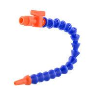 """1/4"""" Nozzle Plastic Flexible Oil Coolant Pipe Valve/Milling Lathe CNC"""
