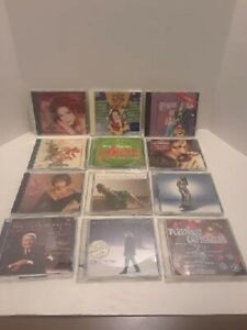 LOT OF 12 CHRISTMAS CD'S VARIOUS ARTISTS