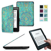 """Slim Shell Case Cover For Amazon Kindle E-reader 8th Gen 6"""" Display 2016 Wake/Sl"""