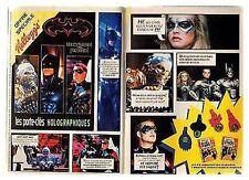 1997 : Document (Ref PICM 0306) : PUB KELLOGG'S BATMAN ET ROBIN    (2  p)