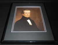 President James Polk Framed 11x14 Photo Display