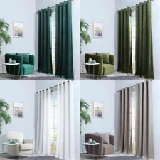 1 Panel Curtain Living Room Blackout Window Curtain Bedroom With Grommet