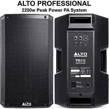 ALTO PROFESSIONAL TS212 2200w Peak Power Lightweight PA System Pair