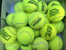 20 Used Tennis Balls, Wilson, Head, Dunlop, etc Great Dog Toys