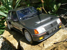 peugeot 205 turbo 16 grise 1/18 1:18 1 18 otto ottomodels ottomobile boxed