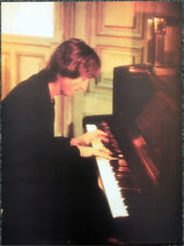 THE BEATLES POSTER PAGE . 1980 JOHN LENNON AT THE PIANO . I101