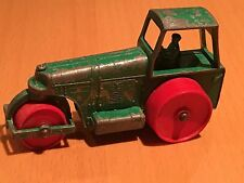 Matchbox Lesney Moko No 1 Aveling Barford Road Roller Red Plastic Wheels