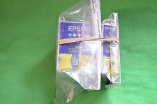 COPPIA Epson 1x T007 Nero 1x T008 gli inchiostri a colori Stylus FOTO ORIGINALE