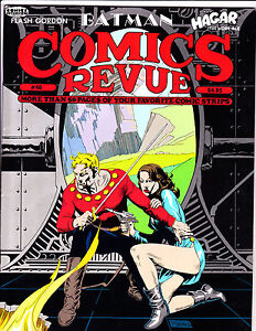"Comics Revue No 46-1990-Strip Reprints- ""Flash Gordon Cover!  """