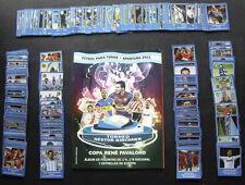 100% COMPLETE ARGENTINA CDP APERTURA 2011 STICKER SET + NEW EMPTY ALBUM