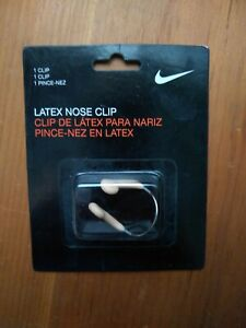 NEW NIKE SWOOSH    Latex Nose Clip  Swimming Swim