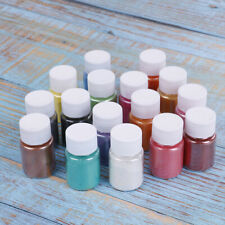 1 Bottle natural mica pigments soap nails art epoxy resin colorant dye craft Diy