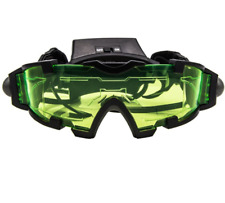 Children Adjustable LED Night Vision Goggles With Flip-Out Lights Eye Lens Glass