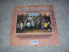 "Bob Geldof Signed Autographed LP Record ""We Are The World"" WITH PROOF + COA"