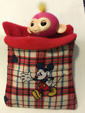 SLEEPING BAG for Fingerlings Monkey Accessory MICKEY MOUSE
