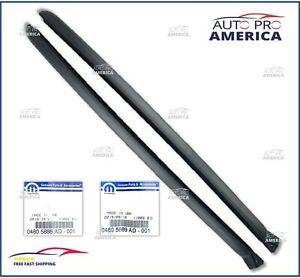 OEM MOPAR CHRYSLER 300 DODGE CHARGER MAGNUM RH & LH WINDSHIELD PILLAR MOLDING