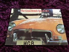 MGB Roadster Brochure c1974 - Issue 2961/A