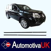 fits Nissan X-Trail Mk2 Rubbing Strips Door Protectors Side Protection Mouldings