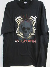 NEW - AS I LAY DYING BAND / CONCERT / MUSIC T-SHIRT 3XL / X X X LARGE