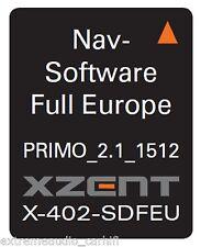 xzent X-402 MicroSD-Card with iGO Primo Europakarte