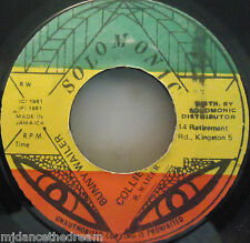 "BUNNY WAILER - Collie Man - 7"" Single JA PRESS"