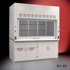 6 X 4 Fisher American Laboratory Bench Fume Hood Flammable Storage E2 669