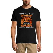 ULTRABASIC Homme T-shirt Brother and Gamer - Frère et Gamer - Jeux Vidéo