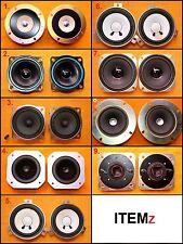 Assorted Pioneer Akai Sony EAH R&D JVC Tweeter Speakers
