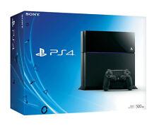 Sony PlayStation 4 Konsole 500gb Jet Black Ps4