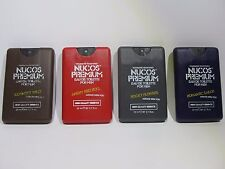 Pocket Perfume Travel size Mens 4 pack
