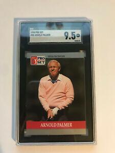 1990 Pro Set Golf Arnold Palmer #80 SGC 9.5 MINT+