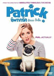 Patrick (2018) DVD R0 PAL - Ed Skrein, Jennifer Saunders, Family Pug Dog Comedy