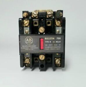 Allen Bradley Bulletin 700 AC Relay, 700-N200A1 Series B